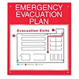 ComplyRight Emergency Evacuation Plan Board