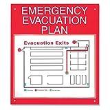 ComplyRight Emergency Evacuation Plan Board