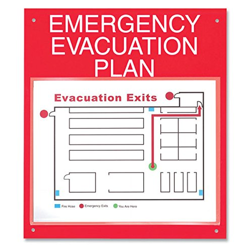 ComplyRight Emergency Evacuation Plan Board by ComplyRight