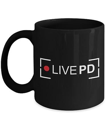 joyous unique coffee mug. Live PD Coffee Mug  Unique Novelty Gag Gift Idea for Fan Amazon com