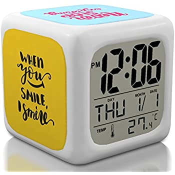 Amazon.com: Bedroom Alarm Clock for Heavy Sleepers, Kids ...
