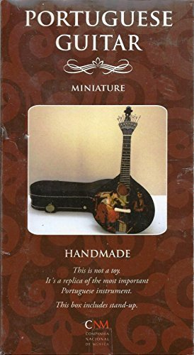 Hand Made Portuguese Guitar Miniature : Portuguese Guiar: Amazon ...