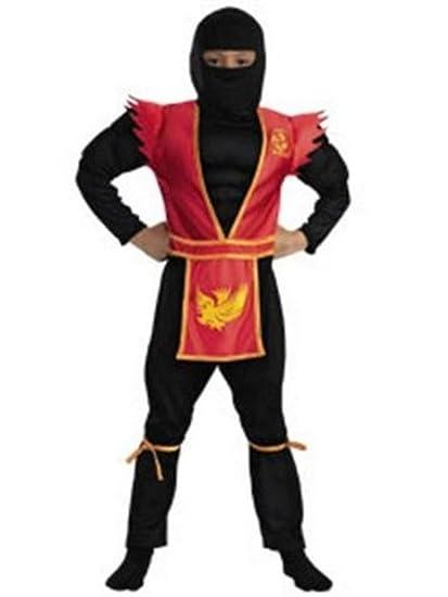 Amazon.com: Phoenix Shadow Ninja Deluxe Kids Costume: Clothing