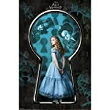 Alice in Wonderland Movie (Alice, Keyhole) Poster Print - 22x34 Poster Print, 22x34