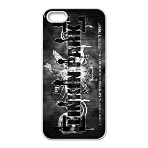 FOR Apple Iphone 5 5S Cases -(DXJ PHONE CASE)-Linkin Park Music Band-PATTERN 14