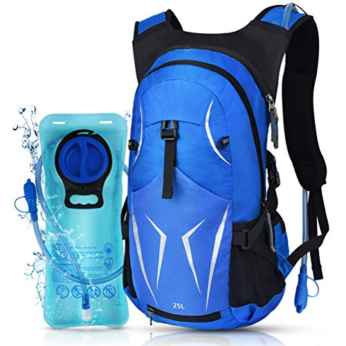 VBG VBIGER Hydration Pack Backpack Water Backpack & 2L Hydration Water Bladder for Cycling Hiking Running