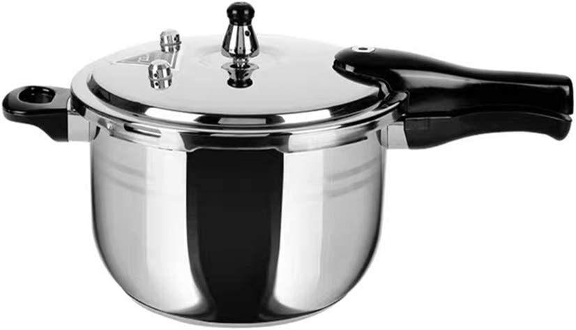 DSFHKUYB Stainless Steel Pressure Cooker, Suitable on All hob Types Including Induction, Stainless Steel, Diameter: 16 cm,7L