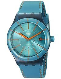 Swatch Unisex SUTG400 Originals Analog Display Swiss Automatic Green Watch