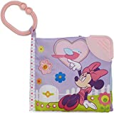 """Disney Baby Minnie Mouse On the Go Soft Teether Book, 5"""""""