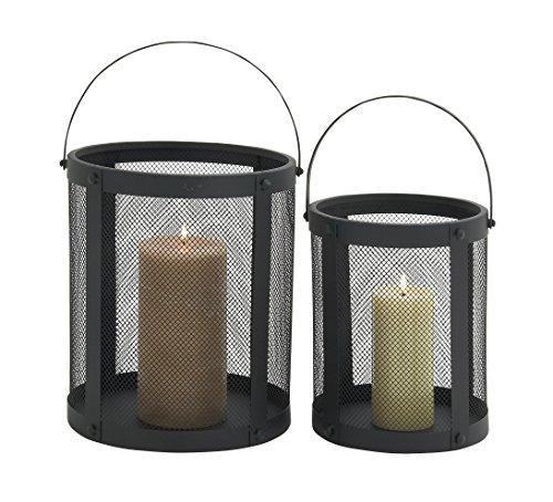 (Deco 79 Metal Candle Lantern S/2 15