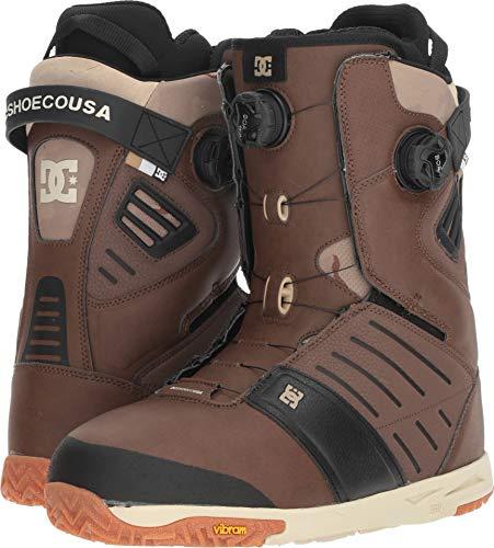 DC Men's Judge '18 Brown 11 D - Mens Snowboard Boots Brown