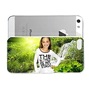 iPhone 5&5S cover case Maddie Ziegler Which Episode Of Austin And Ally Is Maddie Ziegler On And When