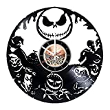 Animated Fantasy Movie Vinyl Record Wall Clock - Kids Room wall decor - Gift ideas for friends, teens - Cartoon Unique Art Design