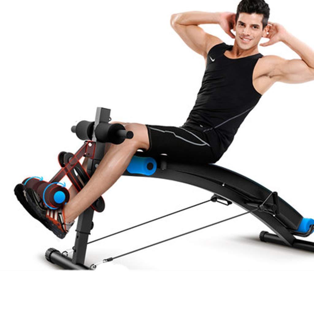 ジムオリンピックはリバースクランチハンドル、調節可能なワークアウトベンチ、スラントボード付きのベンチを座っています。腹部背もたれエクステンションベンチ   B07KG2JYCD