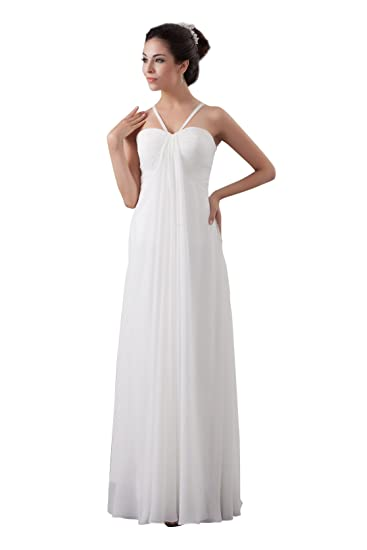 d7f480e842f4d9 【Wonderfulドレス】大きいサイズ シンプルAラインドレス シフォンワンピース マキシ丈 ロングドレス