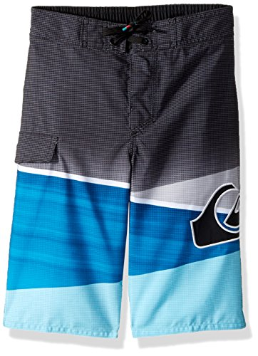 Quiksilver Boys' Slash Logo Youth 57, Atomic Blue, ()