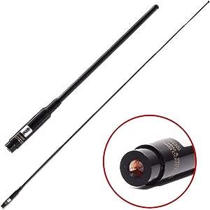 TengKo RH-660S SMA Hombre Banda VHF UHF 144 / 430MHz Antena telescópica Antena de Radio Bidireccional de Alta Ganancia para Wouxun KG-UV8D / 9D Plus ...