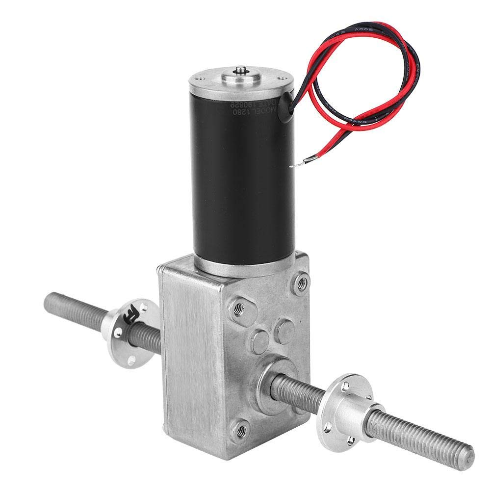 riduzione della velocit/à di tipo micro DC6V con ingranaggi precisi della sfera Motoriduttore turbo ad alta coppia Motoriduttore a vite senza fine a torsione di grandi dimensioni 10RPM
