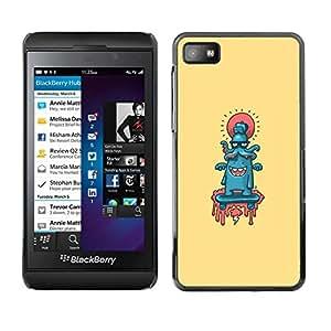 All Phone Most Case / Oferta Especial Duro Teléfono Inteligente PC Cáscara Funda Cubierta de proteccion Caso / Hard Case Blackberry Z10 // Abstract Cute Octopus
