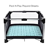 Stretchy-Pack-n-Play-Playard-Sheets-Brolex 2 Pack