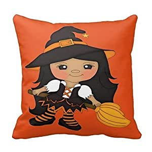 Pillowcases A cute little witch 18x18(inches)