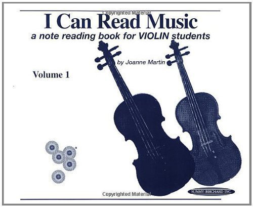 Reading Note Book (I Can Read Music: A Note Reading Book for Violin Students (Volume 1) [Spiral-bound])
