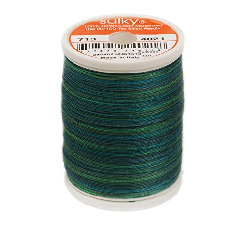 (Sulky 27460 Blendables Thread 12wt 330yd, Truly Teal)