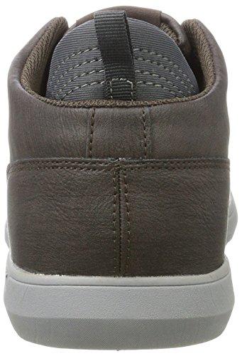 Braun a Knights Dk Sneaker Alto Brown Uomo British Calix Collo H7TTq