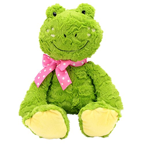 Soft and Cuddly Stuffed Animal Adventure Puddle Jumper Frog