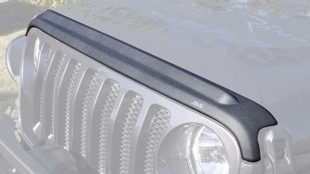 FLYWM 2 Pz Rafforzare ABS Protector Auto Porta Soglia Adesivi Piastra per Jeep Wrangler II TJ 1997-2006 Auto Porta Davanzale Guardie Copertura Decor Antiscivolo Anti-Graffio Accessori