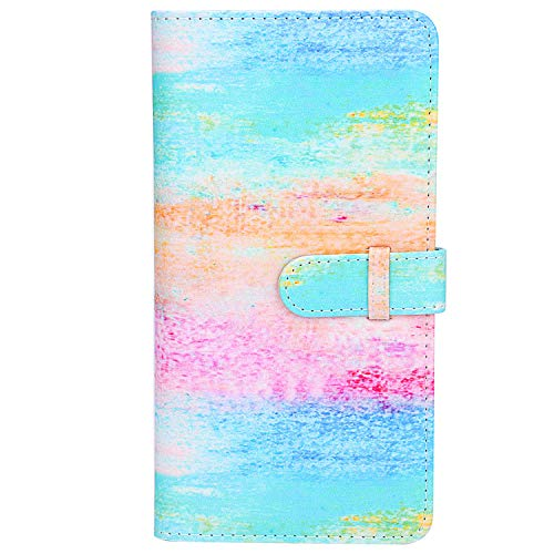 Sunmns Wallet PU Leather Photo Album for Fujifilm Instax Square SQ6 SQ10 SQ20 Film (Rainbow)