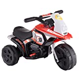 Marketworldcup-6V Kids Ride On Motorcycle Battery Powered 3 Wheel Bicyle Electric Toy New Red