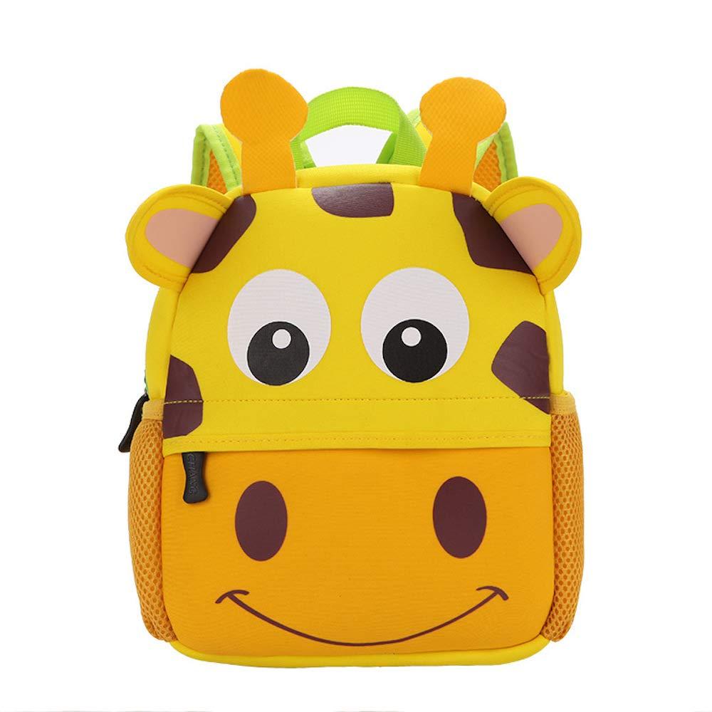 Rufun Sac à Dos Scolaire pour Enfants Design Animal pour Enfant de 2 à 6 Ans (Chouette)