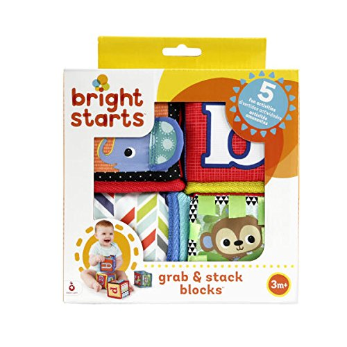 (Bright Starts Grab and Stack Block Toy)