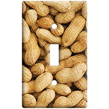 Graphics and More Peanuts Nuts - Plastic Wall Decor Toggle Light ...