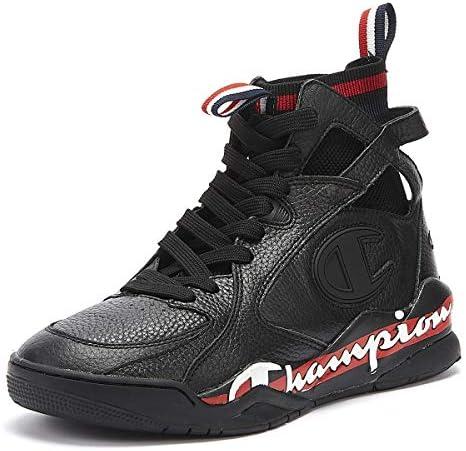 Champion Zone 93 High Herren Schwarz Sneakers