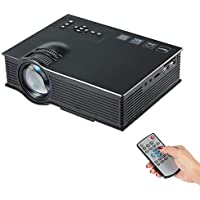 Docooler UC40+ Portable LED Projector 800 Lumens VGA / AV / HDMI / SD Input with Remote Controller