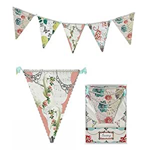 Pastries & Pearls Tea Party Decorative Paper Bunting