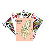 beatChong Taiwan Travel Attractions China Poker Playing Card Tabletop Board Game Gift