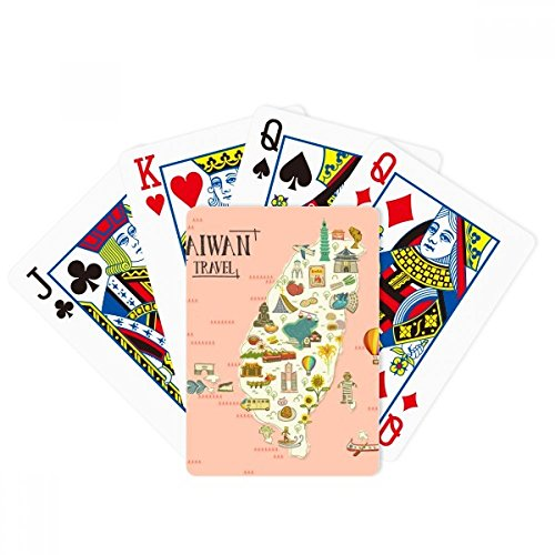 beatChong Taiwan Travel Attractions China Poker Playing Card Tabletop Board Game Gift by beatChong