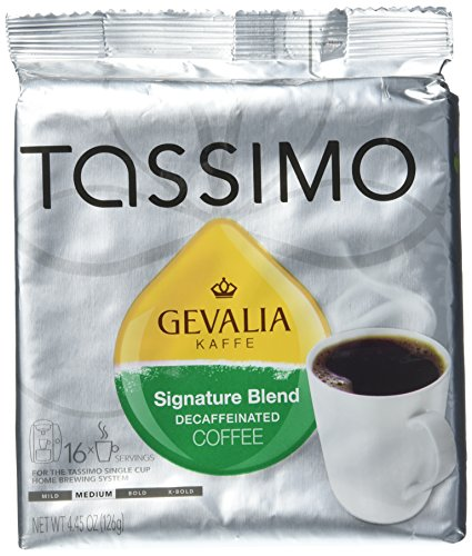 Gevalia Kaffe Signature Blend Decaffeinated Coffee, Pack of 2