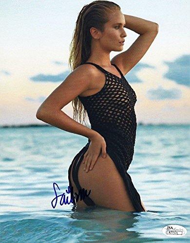 Sailor Brinkley Cook Sports Illustrated Swimsuit Model Signed 8X10 Photograph Jsa 2