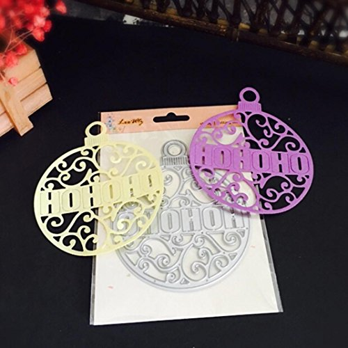 Christmas Halloween Paper Decor Cutting Dies Stencil Scrapbooking DIY Handcrafts by Topunder B for $<!--$4.19-->