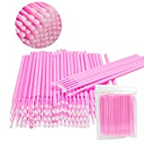Exacoo 600 PCS Disposable Micro Applicators Brush for Makeup and Personal Care 2.0mm