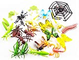 Best Caterpillar Toys For 4 Yr Olds - Set Of 24 Figurines Insects Toy Play Set Review