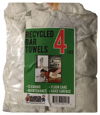 Sandler Brothers 206004 4 lb Recycled Bar Towels
