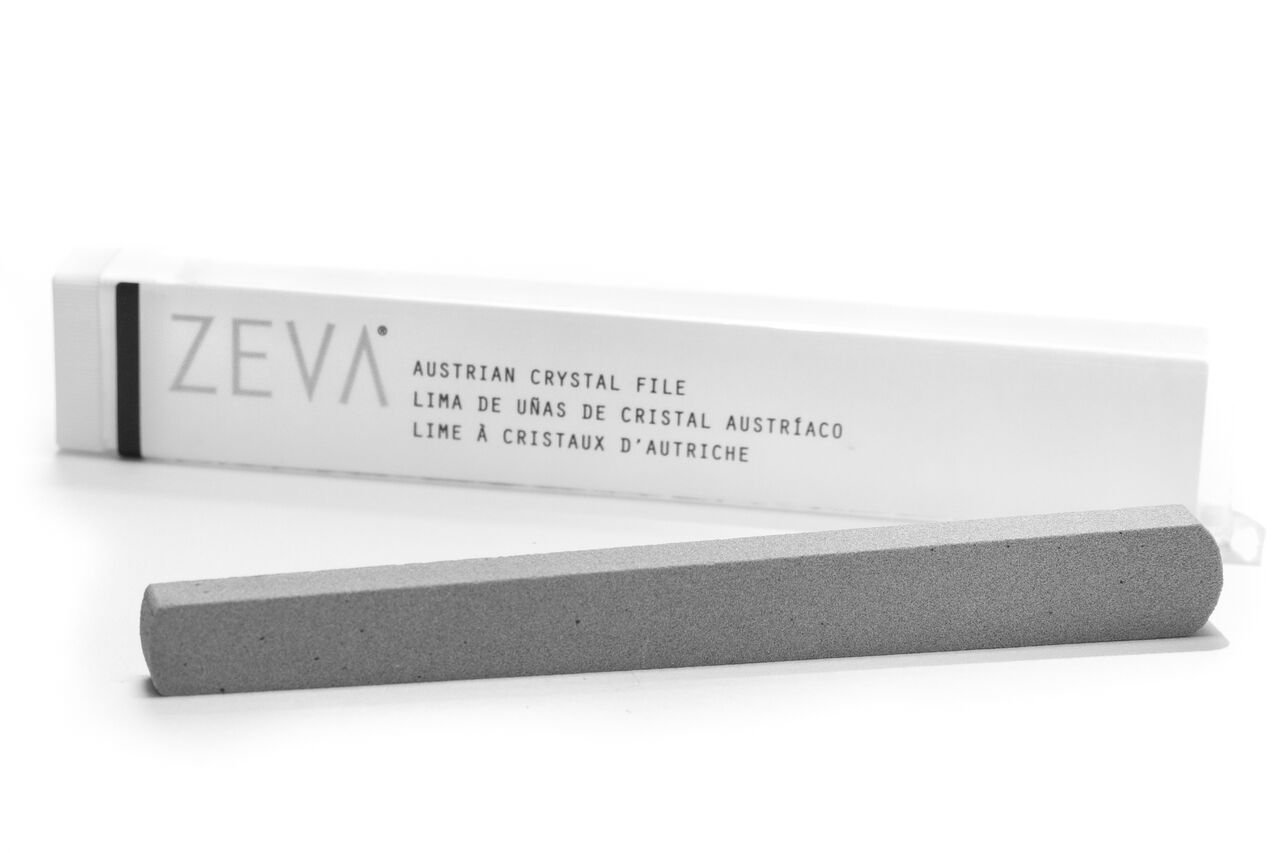 ZEVA Austrian Crystal Nail File - Stops Splitting, Peeling and Cracking, and Removes Excess Cuticle. Made in The USA. by ZEVA