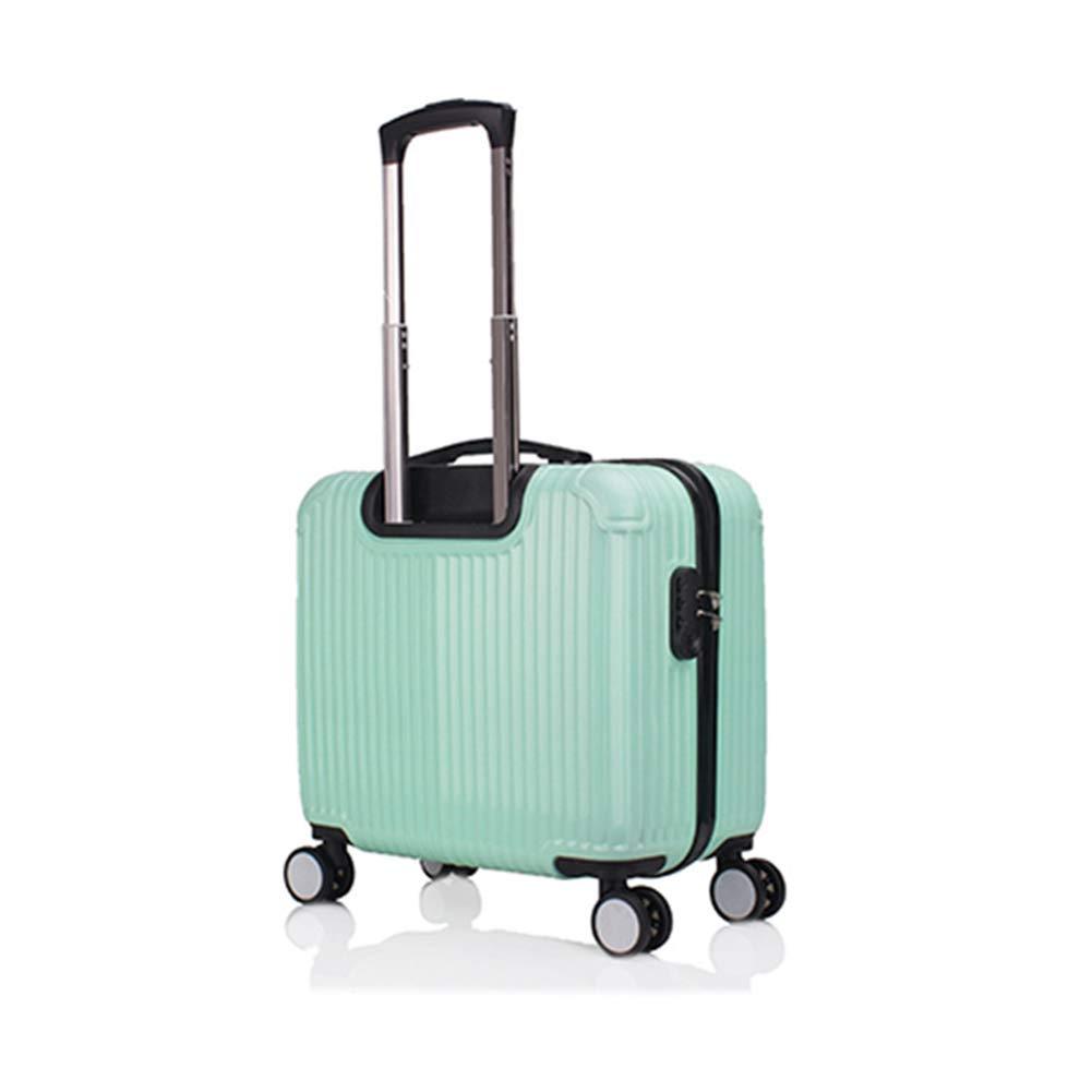 超軽量ABSハードシェル旅行はキャビンの手荷物スーツケース、4つの車輪、飛行機の車輪付きキャビンバッグ、拡張可能な旅行荷物、ほとんどの航空会社のための完璧なキャビンサイズ(24インチ)で運ばれます。 B07K4T26VR mint green