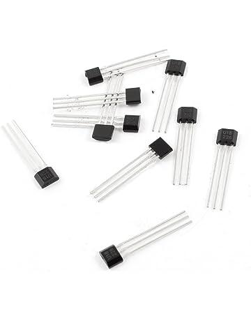 10 Pcs U18 Hall Efecto Sensor magnético Detector 2,5-20V Negro