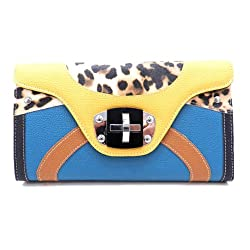 Designer Inspired Beatty Clutch - Colors Available
